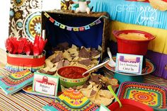 Mexican themed party ideas