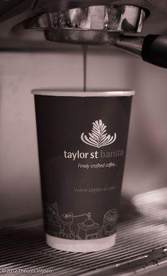 Making coffee; great take away cup design