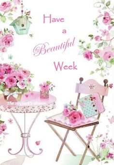 Have a beautifully blessed week! Good Morning Ladies, Good Morning Happy, Morning Wish, Happy Saturday, Happy Weekend, Happy Day, Hello Saturday, Gd Morning, Hello Weekend