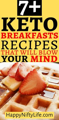 These Keto breakfast ideas are so unique. Forget the boring bacon and eggs, and get on to these new low carb recipes that taste so good. Low Carb Appetizers, Low Carb Desserts, Low Carb Recipes, Whole Food Recipes, Healthy Recipes, Keto Diet Breakfast, Breakfast Recipes, Breakfast Ideas, Keto Friendly Chocolate