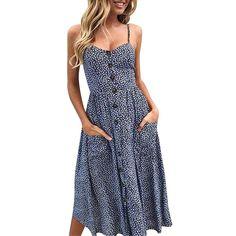NEW Women Brown Multi Color Summer Beaded Maxi Halter Long DRESS Juniors S M L