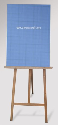 Free Easel Mock Up by WokDesign.deviantart.com on @DeviantArt