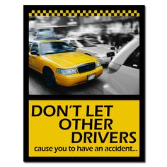 """Safe driving poster - """"Smart Driving is Key - University Driving School"""""""