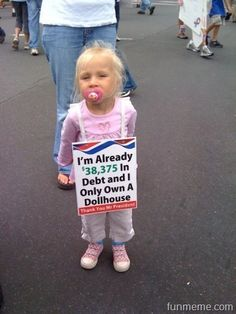 NOBAMA '12. and this cute little one says No More Obamacare and shes right on. Extraordinary American at such an early age, Priceless~