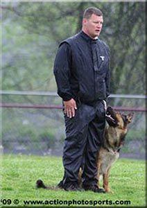 Together on the Schutzhund field