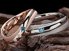 七夕の想いを込めた結婚指輪(マリッジリング)をオーダーメイド