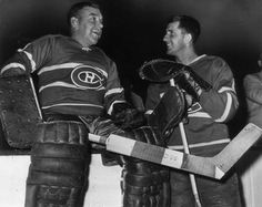 Worsley and Maniago in their time in Montreal. Hockey Goalie, Hockey Teams, Ice Hockey, Montreal Canadiens, Nhl, Hockey Room, Vancouver Canucks, Go Blue, Blues