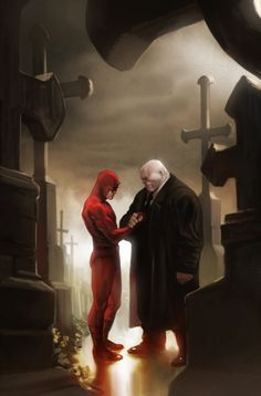 Daredevil and Kingpin