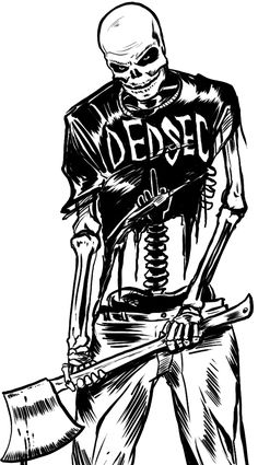 Watch_Dogs 2 - Dedsec Skeleton
