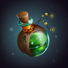Dungeons And Dragons Classes, Advanced Dungeons And Dragons, Dungeons And Dragons Homebrew, Potion Bottle, Bottle Art, Digital Decorations, Enchanted Book, Bottle Drawing, Magic Bottles