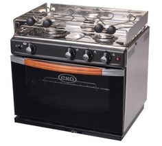 Force 10 Gascogne 3-Burner Propane Gas Stove With Oven