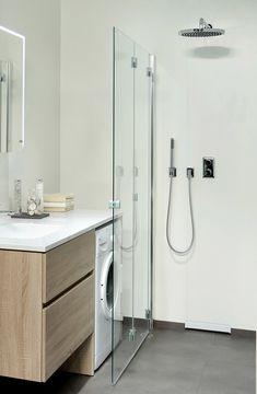 Bathroom Lighting Design, Bathroom Design Small, Modern Bathroom, Golden Living, Beauty Salon Interior, Lounge Decor, Apartment Living, Washing Machine, Interior Decorating