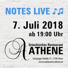 Wir freuen uns schon aufs 🌼☀️Sommerfest ☀️🌼 mit Notes Live ♪♫ 📆 7. Juli 2018 ⏰ 19:00 Uhr. 🎤 Theodoti Alexandrou und 🎸 Kosta Liaskos bringen die schönsten Lieder Griechenlands urige Tavernenhits, Rebetika und Bouzouki-Klänge 🎶  __________________________________________ #NotesLive #TheodotiAlexandou #KostaLiaskos #greecmusik #livemusik #griechischessen #griechischeküche #griechischerwein #restaurant #griechischemusik #traditional #folklore #griechisch #greek #food #wien #grinzing Folklore, September, Clock, Nice Asses, Fall Fest