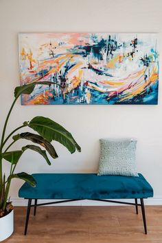 Custom painting - Toronto artist, Art By Thiviyaa Artist Art, Toronto, Vibrant, Tapestry, Paintings, Living Room, Abstract, Artwork, Inspiration