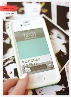Noteworthy: myPantone iPhone App