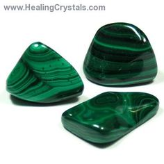 Malachite absorbs energy, draws emotions to the surface, clears and activates the Chakras.  An extremely powerful metaphysical stone, Malach...