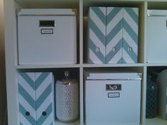 love the chevron for my magazine addiction!
