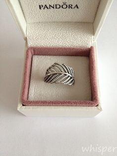 Pandora feather ring.