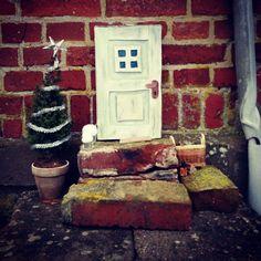 Elf dor outside my home.