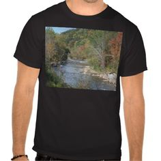 Breathtaking West Virginia River Tee Shirts!  #Appalachian #photography & #art #zazzle #store #gifts #customize #West #Virginia http://www.zazzle.com/dww25921*