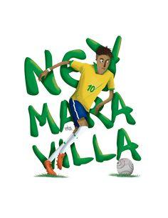Stars of World Cup / Estrellas del Mundial Brasil 2014 on Behance