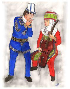"""Kyrgyz Timur Komuz and Kyrgyz Cello Duet from """"Art of Music"""" http://www.madguru.com/aom"""