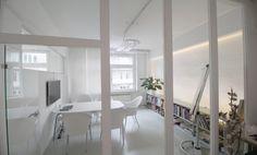 Arbeitsplätze in schönem atmosphärischen Loftbüro #Büro, #Bürogemeinschaft, #Office, #Coworking, #München, #Munich