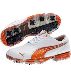 Super Cell Fusion Ice Golf Shoes, white-vibrant orange-smoke