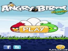 Angry Birds Shooter  Android Game - playslack.com , Angry Shooter   Angry birds come back in a brand-new impression! Now it is essential to propel in other angry birds of the same color to ruin them. The important situation is to supervise to shoot precisely until the platform with birds hanging on it descend to the bottom. Generally the game combines other games of an akin category + design in property of your rival of Angry Birds.What we can say about properties- uncomplicated and handy…
