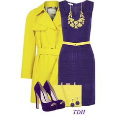 """""""Yellow Trench Coat"""" by talvadh on Polyvore"""