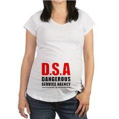 D.S.A RBW Maternity T-Shirt> Dangerous Service Agency RBW> NASDESIGN 88 - Designer Marketplace Shop