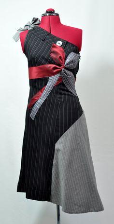 Refashioned men's suit