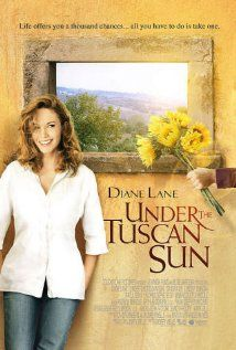 Under the Tuscan Sun (2003): While on vacation, a just-divorced writer buys a villa in Tuscany on a whim, hoping it will be the start of a change for the better in her life.