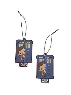 c1127ab34fe Loungefly Doctor Who Chibi 11th Doctor Tardis Air Freshener 2 Pack