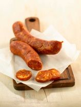 Homemade Pepperoni Recipe _ Pepperoni sausage is made with pork and beef. It needs to hang to cure at least six weeks, so plan ahead.