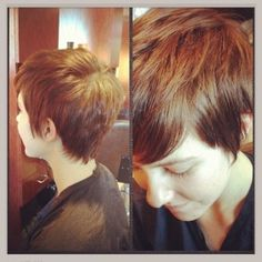 Real Girls, Inspired Style…Featuring Pixie Haircuts! #haircuts #pixie