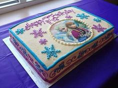 This cake would be a 13x9...serve about 25-30ppl. As decorated cost would be $78 with edible image cost.