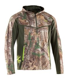 Under Armour® Scent Control Early Season Speed Freek Hoodie for Men | Bass Pro Shops size L