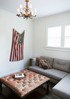 Jon, check out the way they have hung this flag! It would solve all of our problems! :)