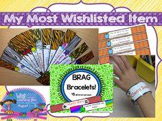 Brag Bracelets for classroom management! GIVEAWAY!