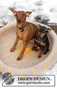 dog bed - free pattern