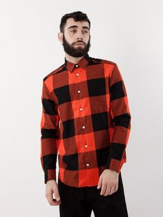 Whyred PS17 Mills Canadian Check W Red