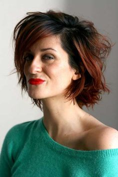 black short hairstyles Over 50 - Short Hair Styles Short Hairstyles Over 50, Haircuts For Wavy Hair, 2015 Hairstyles, Funky Hairstyles, Short Haircuts, Medium Hairstyles, Choppy Hair, Trendy Haircuts, Medium Hair Styles For Women
