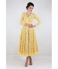 Julea Domani Elegant Lace Dress ( 00203 - 10 )