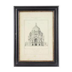 Gerahmtes Bild Kathedrale