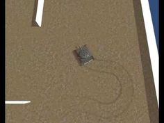 Test of a track trails behind the player tank tracks