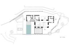 Gallery of Villa Melana / Valia Foufa + Panagiotis Papassotiriou - 15 Villas, Greece Architecture, Hacienda Homes, Villa Plan, Greek House, Austin Homes, Ground Floor Plan, Mediterranean Homes, Dry Stone