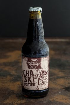 Chaski Porter - craft beer Peru