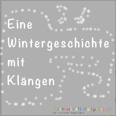 Eine klingende Wintergeschichte You can accompany the story with different instruments. With the instruments she makes the sounds after: The sound of firs blowing in [. Thema Winter Im Kindergarten, Kindergarten Portfolio, Christmas Baby, Preschool Crafts, Homeschool, About Me Blog, Education, Branches, Snowflakes