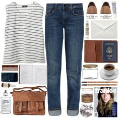 Let's runaway by child-of-the-tropics on Polyvore featuring mode, dVb Victoria Beckham, Converse, Rowallan, rib & hull, Madewell, Maison Margiela, Le Labo, Tammy Fender and Sara Happ